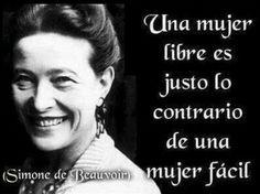 Libertad, Simone de Beauvouir
