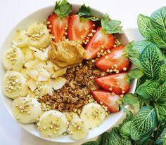 "earthlingveg: "" Oatmeal Nourish Bowls ✨ Instagram: earthlingveg """