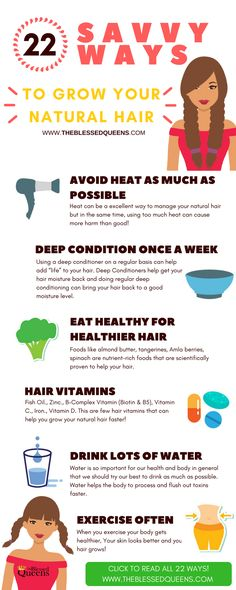 How to grow your natural hair |22 savvy ways to help you grow your natural hair today!
