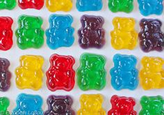 Gummy and Gelatin Candy THESE CAN BE MADE AT HOME AND THEY ARE SO GOOD. WHY NOT TRY THESE DELICOUS FAVORITES. EVERYONE WILL LOVE THEM, SO MAKE ENOUGH AND HAVE FUN. TRY THEM TODAY...ENJOY