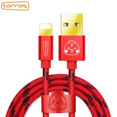 For iPhone Cable Torras Fast Data Charging USB Cable For iPhone 7 6 6s Plus 5 5s SE iPad Air Mini Charger Mobile Phone Cables