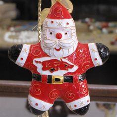Kitty Keller design razorback Santa.  So cute!