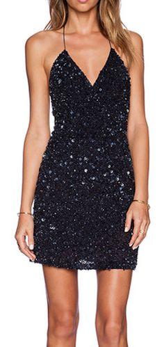 Pretty sequin dress http://rstyle.me/n/ut5krnyg6