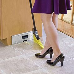 Sweepovac Built in Kitchen Vacuum for Below Cabinets and Toe Kick APPX $144 + COST OF BAGS Spaces: