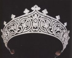 Lady Mountbatten's Tiara. Made in 1910 for the mother of Prince Phillip Mountbatten (Queen Elizabeth's husband).