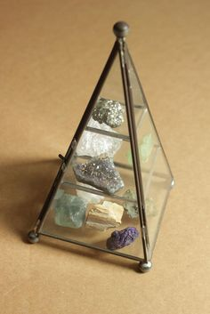 The Pyramid of Mineral Crystals