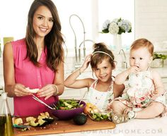 """""""So, I created Honest.com because, as a mom, I needed it, wanted it, and believed we could make the world a better place for my children and families everywhere."""" Jessica Alba - quoted in article: """"Empowering Social Entrepreneurs"""" - #womenentrepreneurs #womeninbusiness"""