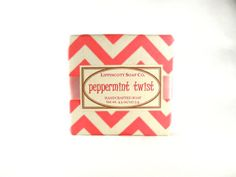 "NEW SOAP!...""Peppermint Twist"" Cold Process Soap: https://www.etsy.com/listing/181475931/peppermint-soap-handmade-soap-cold?ref=related-0   To see our complete line of Handmade Soaps, please visit www.LippincottSoapCo.Etsy.com"
