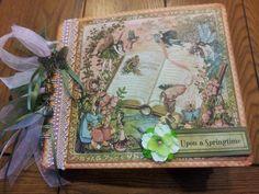 Mini Album Cookbook, Mini Album, Graphic 45, Once Upon a Springtime