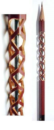 Images about pencel carving on pinterest pencil
