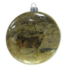 The Deer Ball Ornament - Gold from Urban Barn is a unique home décor item. Urban Barn carries a variety of Holiday Decor - Buy 1 get 1 free and other  Accents furnishings.