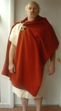 How to Host an Ancient Roman Murder  - has all sorts of info about how to make simple  Roman costumes, recipes and more.