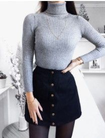Casual Winter Outfit Ideas Mode de Vie Zara Woman Winter Collection - My Favorite Clothing Items Winter Outfits 2019, Casual Winter Outfits, Fall Outfits, Dress Casual, Black Outfits, Winter Outfits With Skirts, Party Outfit Winter, Denim Skirt Outfit Winter, Winter Outfits Tumblr