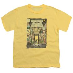 BATMAN/ROGUES GALLERY COVER - S/S YOUTH 18/1 - BANANA -