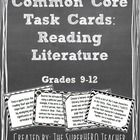 These task cards are Common Core (Reading Literature) aligned for grades 9-12.  There are 36 different tasks for the students to complete and they ...