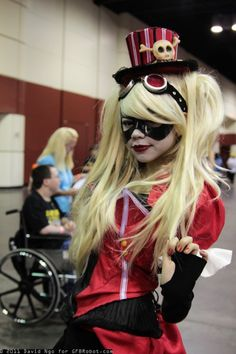 OMG two of my faves combined!! Steam punk Harley Quinn!!!!