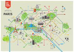 Ist demnächst eine Reise nach Paris geplant? Hier finden Sie eine Übersicht aller Sehenswürdigkeiten in Paris auf einer Karte! | GetYourGuide.de