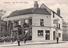 The Gate House in Highgate, circa Picture: Michael Hammerson London Pride, Camden London, London Pubs, Old London, North London, Victorian London, Vintage London, Victorian Photography, London History