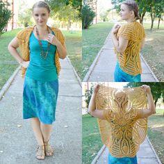 Honey crochet bolero.