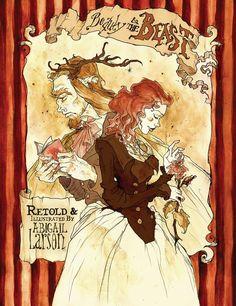 Illustration: Beauty and the Beast - Abigail Larson