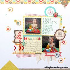 They Say It's Your Birthday - Scrapbook.com