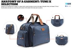 Best bag ever. Love collabo's like this cc @selectism @tumi