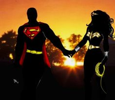 Superman/Wonder Woman Sunset