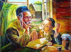 alldayschool: Λέων Νικολάγιεβιτς Τολστόι  ''Ο παππούς και το ε...