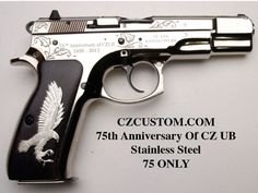 CZ 75 B 75TH ANNIVERSARY UB Stainless Edition