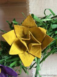 Upcycled Egg Carton Flowers