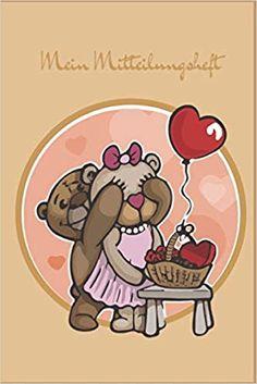 Mein Mitteilungsheft: Teddybär: Ein Mitteilungsheft, das der Kommunikation zwischen Lehrer-Eltern dient. Das Heft ist ein guter Helfer für die Lehrer-Eltern-Kommunikation. Helfer, Communication