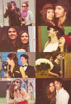Nina and Ian! The vampire diaries