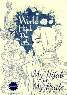 4 September - Happy World #Hijab Day to all muslimah in the world ! #WorldHijabDay4Sep https://www.facebook.com/hashtag/worldhijabday4sep