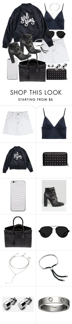 """Untitled #20103"" by florencia95 ❤ liked on Polyvore featuring T By Alexander Wang, Alexander McQueen, Jamie Clawson, ASOS, Yves Saint Laurent, 3.1 Phillip Lim, Forever 21, Monica Vinader and Cartier"