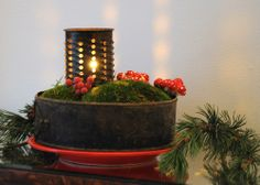 ReNika: Christmas in country style Country Style, Planter Pots, Christmas, Xmas, Weihnachten, Navidad, Yule, Noel, Plant Pots