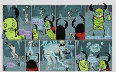 Ten Deadly Tasks Page 40 - Ten Deadly Tasks Comic Books, Artists, Comics, Cartoons, Cartoons, Comic, Comic Book, Comics And Cartoons, Artist