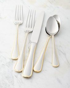 Mikasa GOLD ACCENT CAMEO Stainless 18//10 Glossy Silverware CHOICE Flatware