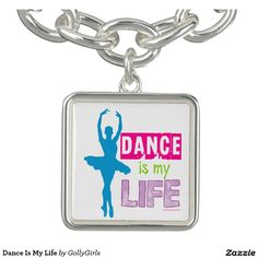 Dance Is My Life Bracelets by Golly Girls