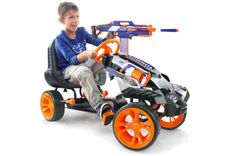 The Nerf Battle Racer Go-Kart Is Packed With Foam Firepower