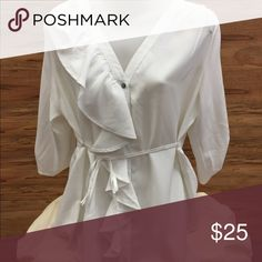 "White ""aniina"" blouse Never worn! Perfect condition Tops Blouses"