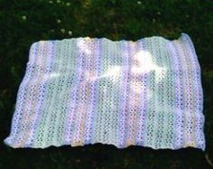 V Stitch Baby Afghan- A V stitch is a great gift to make for a little one in your life; it is easy to make, and they are sure to love it for years to come!