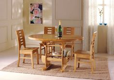 Stunning Extraordinary Dining Chair Room Furniture Wood Table ...