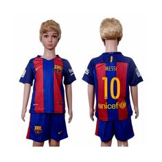 Barcelona Fodboldtøj Børn 16-17 Lionel Messi 10 Hjemmebanetrøje Kortærmet.  http://www.fodboldsports.com/barcelona-fodboldtoj-born-16-17-lionel-messi-10-hjemmebanetroje-kortermet.  #fodboldtrøjer