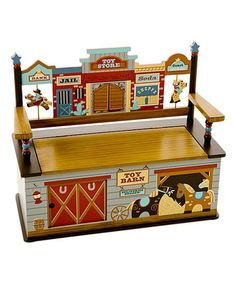 Great toy box for boys