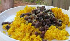 Black Beans and Yellow Rice