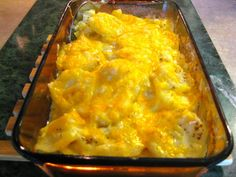 Cheesy Scalloped Potatoes For Two | My Sweet Mission