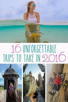 Trips to Take in 2016
