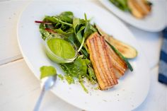 Grilled Tofu with Cilantro Pesto