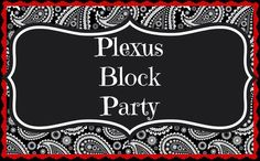 """Ready to lose weight? Or prevent gaining over the holidays?? I am looking for at least 10 PEOPLE MEN & WOMEN to take the Plexus Block Party Challenge!  I will be giving a CASH PRIZE TO THE WINNER!!   WHATS REQUIRED FOR THE BLOCK PARTY!  Take 2 all natural block pills a day, that's all! Take a picture of yourself on Nov 1st-and again on Dec 31st. That's is all!! The winner of the person """"most changed"""" will win a AWESOME prize!! AFFORDABLE!!!!   PLUS 60 day $ back guarantee!  Read more…"""