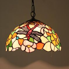 Nature's Symbiosis Tiffany Pendant Lamp